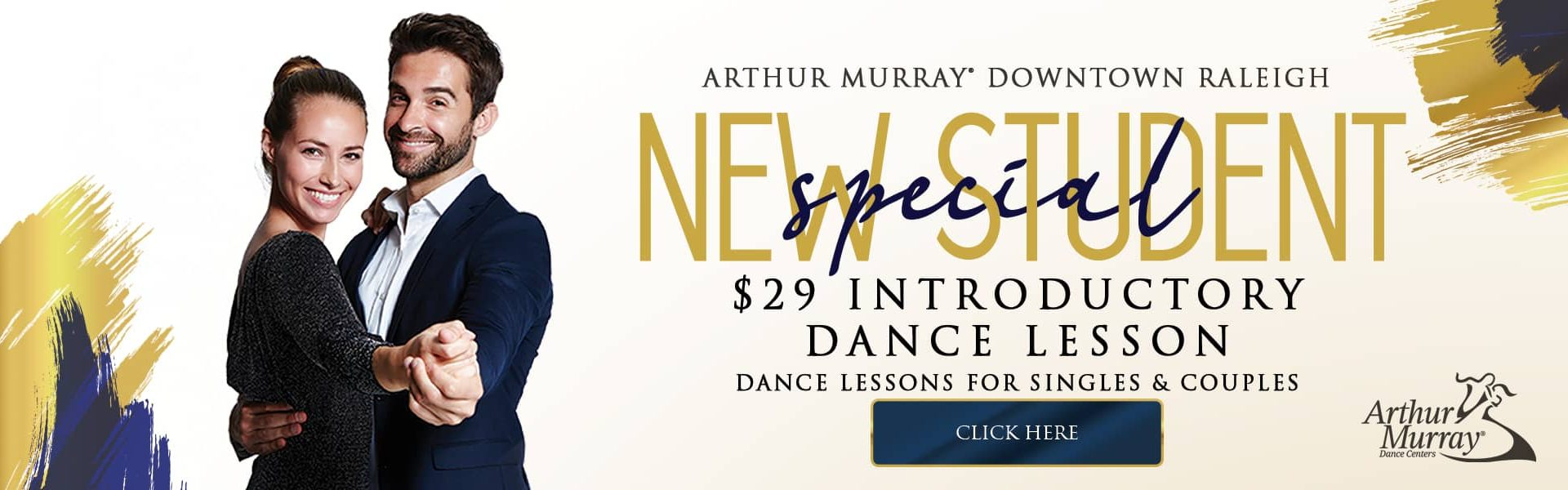 Arthur Murray Downtown Raleigh New Student Offer